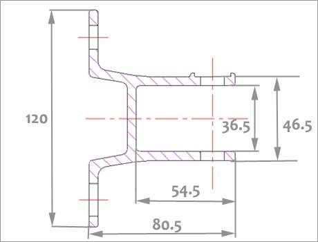 schémas du support de store terrasse