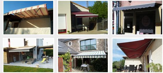 photos stores de terrasse