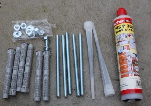 A quelle hauteur installer un store banne, kit scellement chimique sunny inch