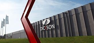 logo dickson toile acrylique de store banne sunny inch
