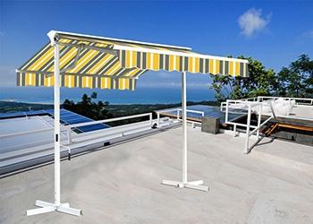 quel store de terrasse choisir, store banne double pente sunny inch
