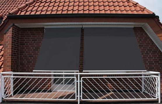 quel store pour balcon, store vertical extérieur sunny inch