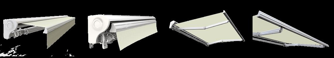 store banne semi coffre motorisé sunny inch écru
