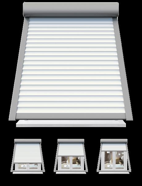 volet roulant rénovation avec projection sunny inch